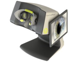 New, Non-Invasive, Visual-Field Testing Device