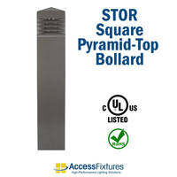 Access Fixtures Introduces STOR Collection with Unique Pyramid Top Shape