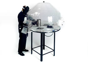 Inflatable Welding Enclosures Provide Low Cost Argon Gas Shielding Environment