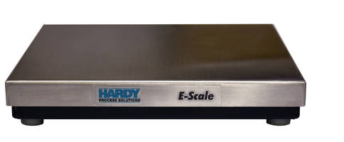 Latest E-Scale Bench Scales Come with Built-In Webserver