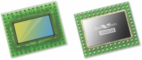 New OS02C10 Image Sensor from OmniVision Can Detect Incident Light in Both Visible and NIR Wavelengths