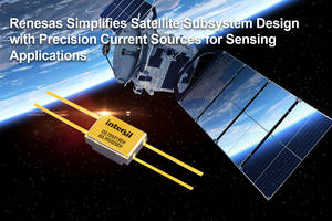 New Precision Current Sources from Renesas are Radiation Assurance Tested to 100 krad