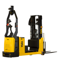 New Stacker Lift Truck from Yale Materials Handling Corporation Features Vertical Movement