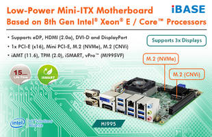 IBASE Technology Introduces the MI995 for Entertainment, Digital Signage and POS Operations