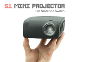 New S1 LED Mini Projector Dock is Designed for Multi-Player Games in a Mobile Environment