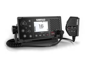 Latest Simrad RS40 VHF Radio Can Pair with Up to Two Wireless Handsets