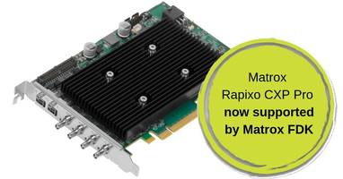 New Matrox FPGA Development Kit Harnesses the Flexibility of FPGAs for Image Processing
