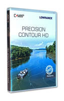 New Alabama Precision Contour HD Chart Card Features Custom Color Depth Shading Functionality