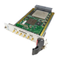 New 3U VPX Virtex UltraScale+ FPGA Board from VadaTech Features 5.4 GSPS 12-bit ADC and 6 GSPS 12-bit DAC