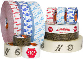 New Printed Packaging Tapes from Shurtape Technologies Enhance Labelling