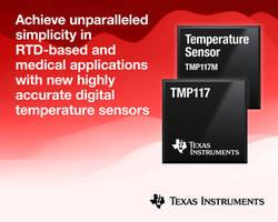 New Digital Temperature Sensors Minimize the Impact of Self-Heating