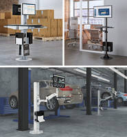 Latest Floor Mounted Workstations Come with Adjustable Mounts