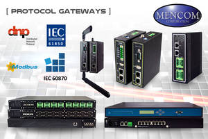 Mencom Presents Industrial Protocol Gateways for Harsh Environments