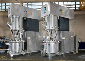 ROSS Introduces Model DPM-150 Double Planetary Mixers in All-Stainless Steel Design