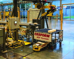 Creform Donates AGVs to Alabama Industrial Training Center