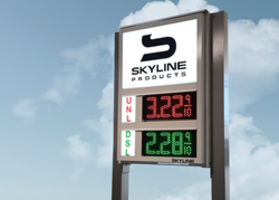 Skyline Introduces 6-Inch LED Price Digits That are Engineered to Maximize Readability