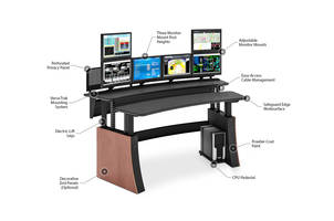Winsted Introduces New Impulse Dual Sit/Stand Consoles