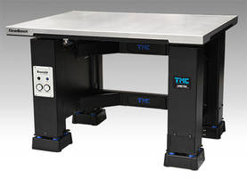 New CleanBench Aktiv Lab Table Features Everstill Active Vibration Cancellation Technology with MaxDamp Air Isolators