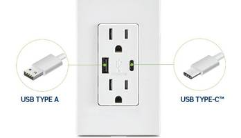 Leviton Type A and Type-C™ USB Charger Receives 2018 NECA Showstopper Award