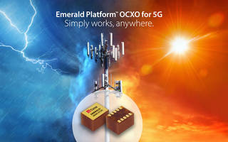 New Timing Solution from SiTime Helps Solve Timing Problems for 5G Equipment