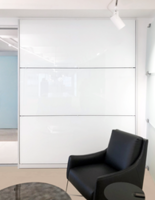 Bendheim Releases HardShell Color Coating for Back-Painted Glass in High-Traffic Interiors