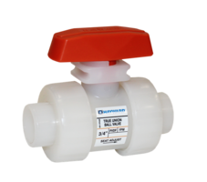 New PVDF TB Series Ball Valves Come with Double O-Ring Stem Seals