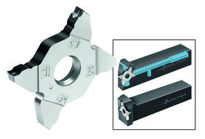 Walter Introduces G3011/G3021 Groovng System with Tiger-Tec Silver PVD Carbide Grades