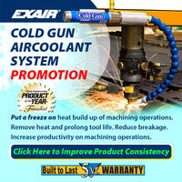 EXAIR Offers Cold Gun Aircoolant System That Prevents Tool Burning