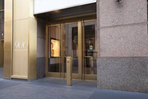 Ellison Custom Balanced Doors Help Revitalize an Iconic Chicago Shopping Complex