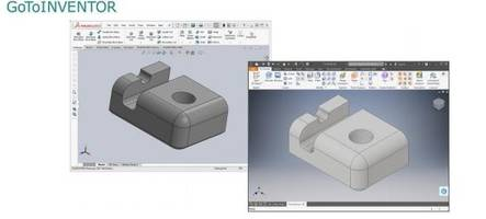 New GoToINVENTOR CAD Conversion Software Can Convert Associative Drawings with Linked 3D Models