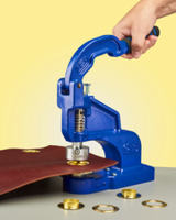Latest ClipsShop CSTEP-2 Metal Grommet Hand Press is Suitable for Low-Volume Industrial and Commercial Users