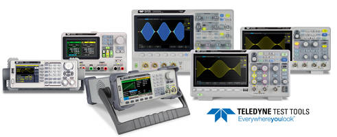 Saelig Introduces Economical Teledyne Test Tools (T3) Range of Test Equipment