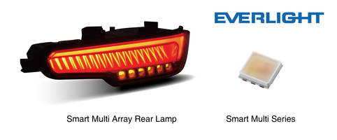 Everlight Introduces New ADB Matrix Intelligent LED Headlamp with Automatic Turn Off