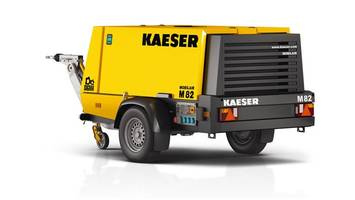 Kaeser Introduces the M82 Portable Compressor for Heavy Duty Civil and Commercial Construction