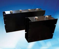 New DC Link Capacitor Modules From CDE for Use with Large Inverter Systems