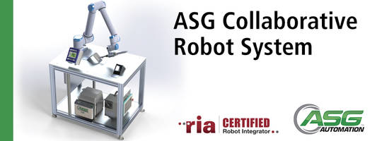 X-PAQ System by ASG Features a Collaborative Robot