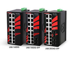 New LNX Series Non-PoE Switches are Suitable for Networking Applications in Harsh Environments
