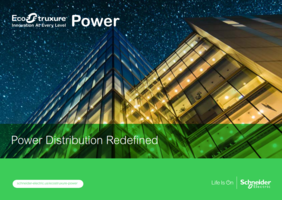 Schneider Electric Introduces New Enhancements to EcoStruxure Power System Simplifying Low and Medium Voltage Power Distribution