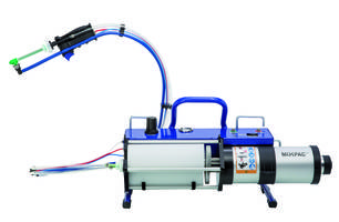 New MIXPAC MixCoat Flex Dispensing Systems are Designed for Spraying into Tight Areas and Manhole Applications