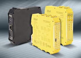 Latest MOSAIC Modular Controller System is Configurable for Managing Safety Functions of Machine or Plant