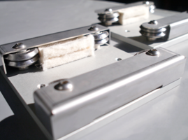 New Vector Quad Linear Guide Continuously Applies Lubrication to the Track