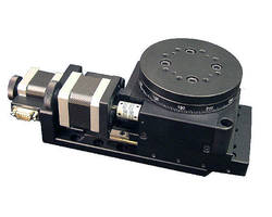 Latest Linear X-Axis Plus Rotary Positioning Stages are Equipped with Two-Phase Stepper Motors