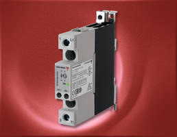 New RGC Series Solid State Contactor is Equipped with an Integral Heat Sink