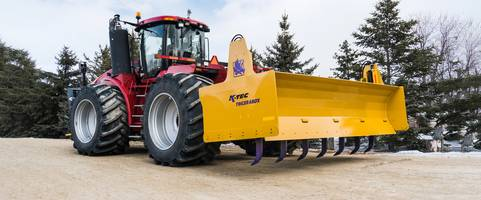 Latest Tricerabox 3-Point Hitch Box Blade Features Hydraulically Operated Seven Ground Ripper Shanks