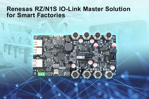 New IO-Link Master Development Kit is Designed for Limited Space and Industrial Environments