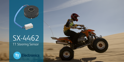 New SX-4462 Hall Effect Torque Sensor Offers a Sensitivity of up to 0.4 V per Degree