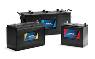 New KOHLER Genuine Batteries are Suitable for Extreme Temperatures and High Vibration Applications