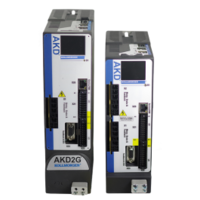 Latest Dual-Axis AKD2G Servo Drive Comes with Optimized Hybrid Connector