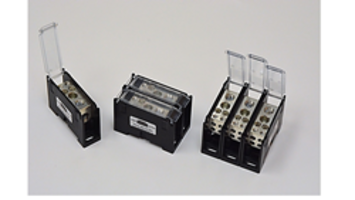 New High-Power HP-ATA-115B Terminal Blocks from Blockmaster Can Be Mounted on DIN Rails and Panels