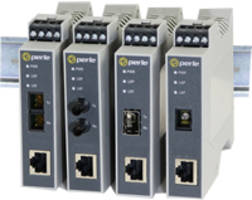 Perle Offers Industrial DIN Rail Media Converters That are Certified to IEC 61850-3 and IEEE 1613 Standards